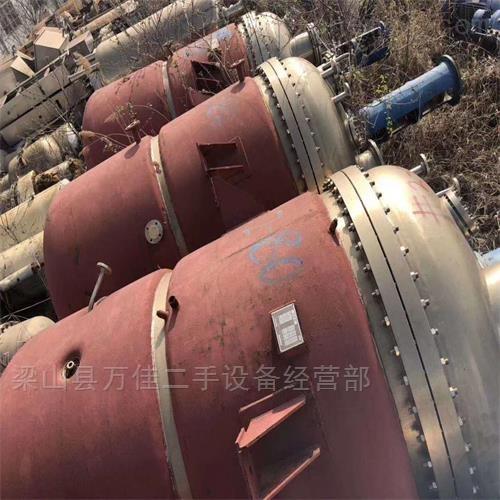 二手全新8立方高压不锈钢反应釜16台出售