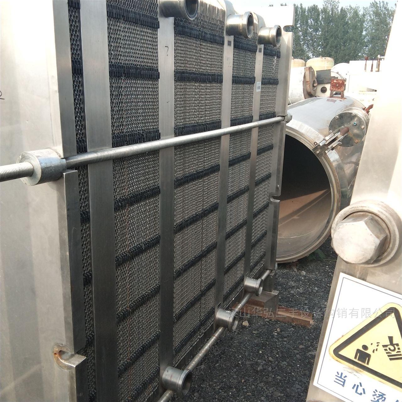 高价回收40平方板式换热器