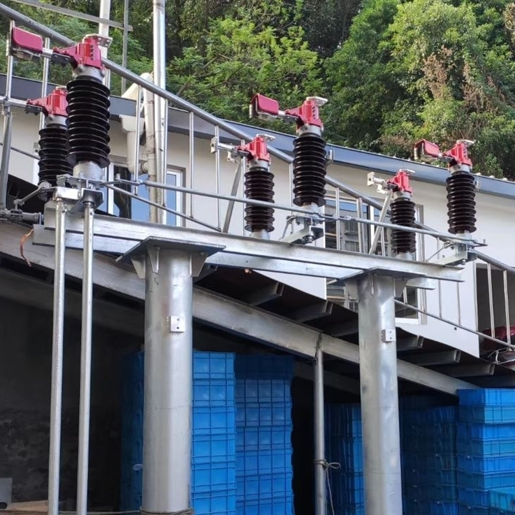 国标35KV高压隔离开关带接地