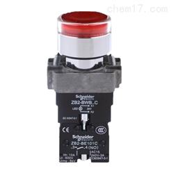 XB2BW34B1C施耐德24V带灯平头红色按钮报价