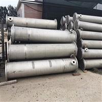 供应二手180平方316材质不锈钢列管冷凝器