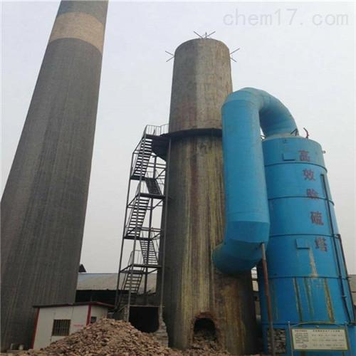 贵阳市人工拆除废弃烟筒公司施工