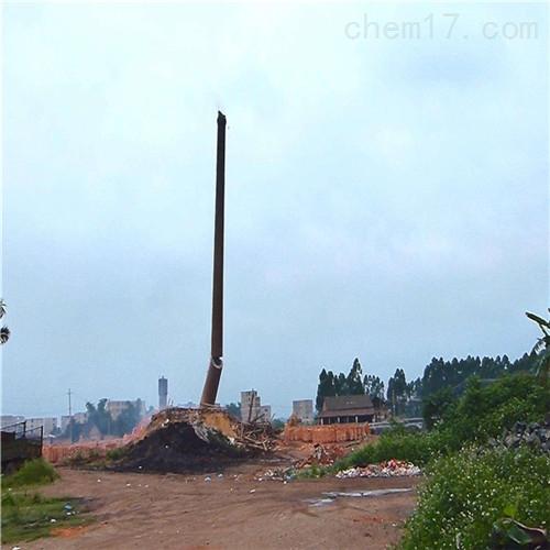 佳木斯市废弃烟筒拆除公司工程承包