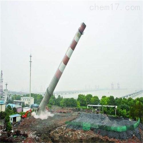 舞钢市大口径烟囱拆除公司共同合作