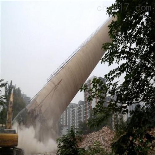 兰州市钢筋混凝土烟囱拆除公司