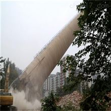 烟囱拆除太原市烟囱裂缝拆除公司施工业绩