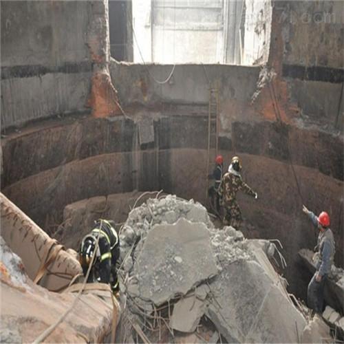 延安市旧烟囱拆除公司工程方案
