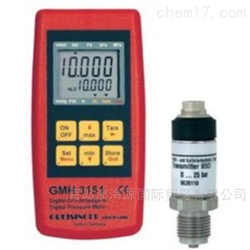 GMH3151真空压力表压力传感器日本进口