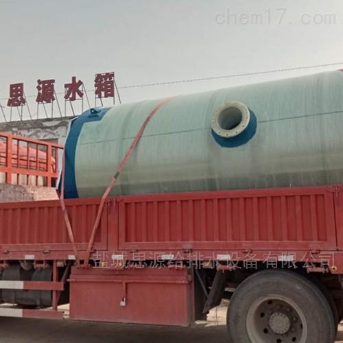 一体化预制泵站的工作原理