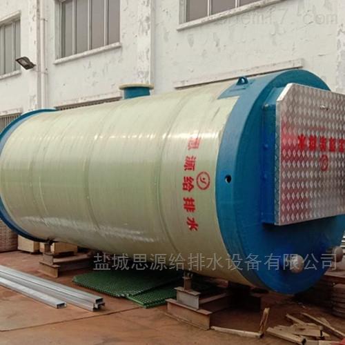 杭州一体化预制泵站的材质要求