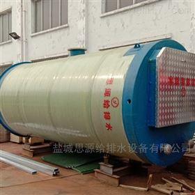 GRP3.8*7江阴一体化预制泵站装车发货