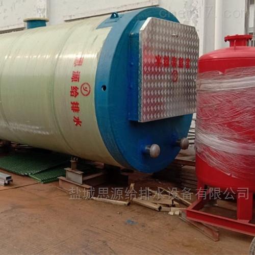 污水式一体化雨水泵站采用新材质