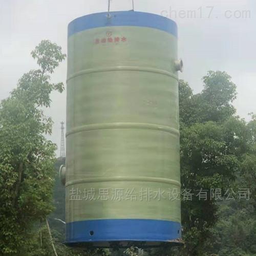 贵阳一体化污水提升泵站厂家