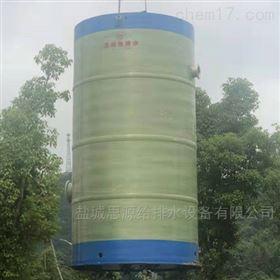 GRP玻璃钢一体化预制泵站的内部设计