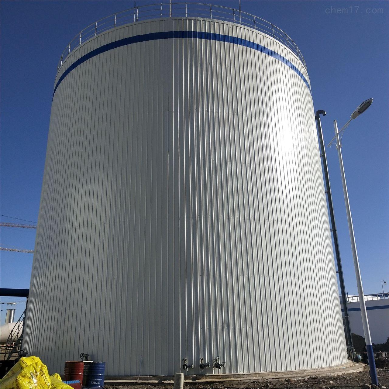 厌氧罐罐体保温工程施工