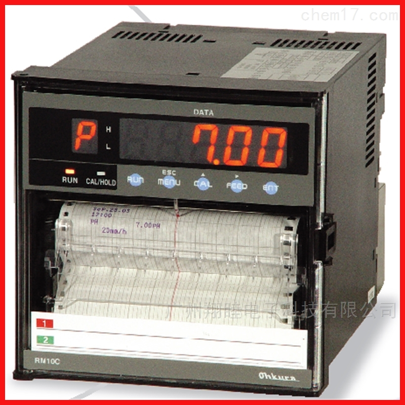 OHKURA大仓有纸打点式记录仪RM1006C