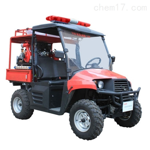 细水雾泵组-全地形消防摩托车