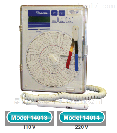 deltatrak圆盘温湿度记录仪14014