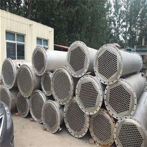 北京出售二手不锈钢列管冷凝器