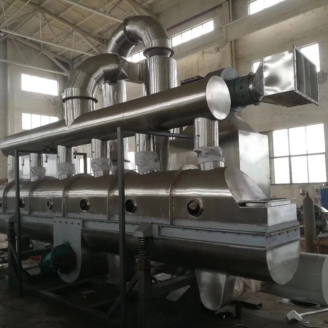 硫酸铝干燥机生产线