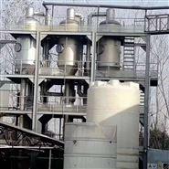 新到二手3.2吨MVR双效钛材蒸发器