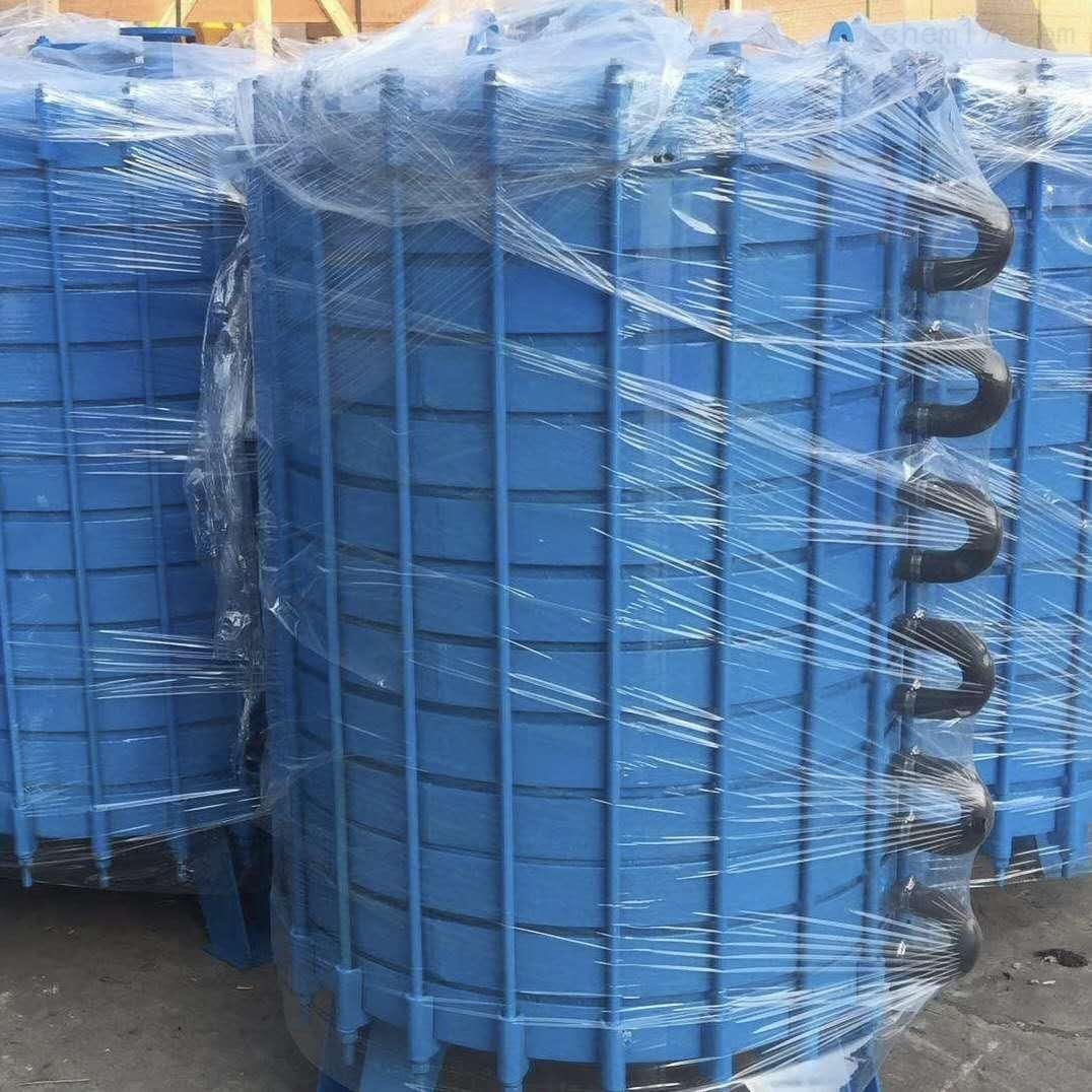 闲置一批搪瓷片式冷凝器 板式换热器