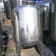 3立方多台二手不锈钢计量罐 缓冲罐批发销售