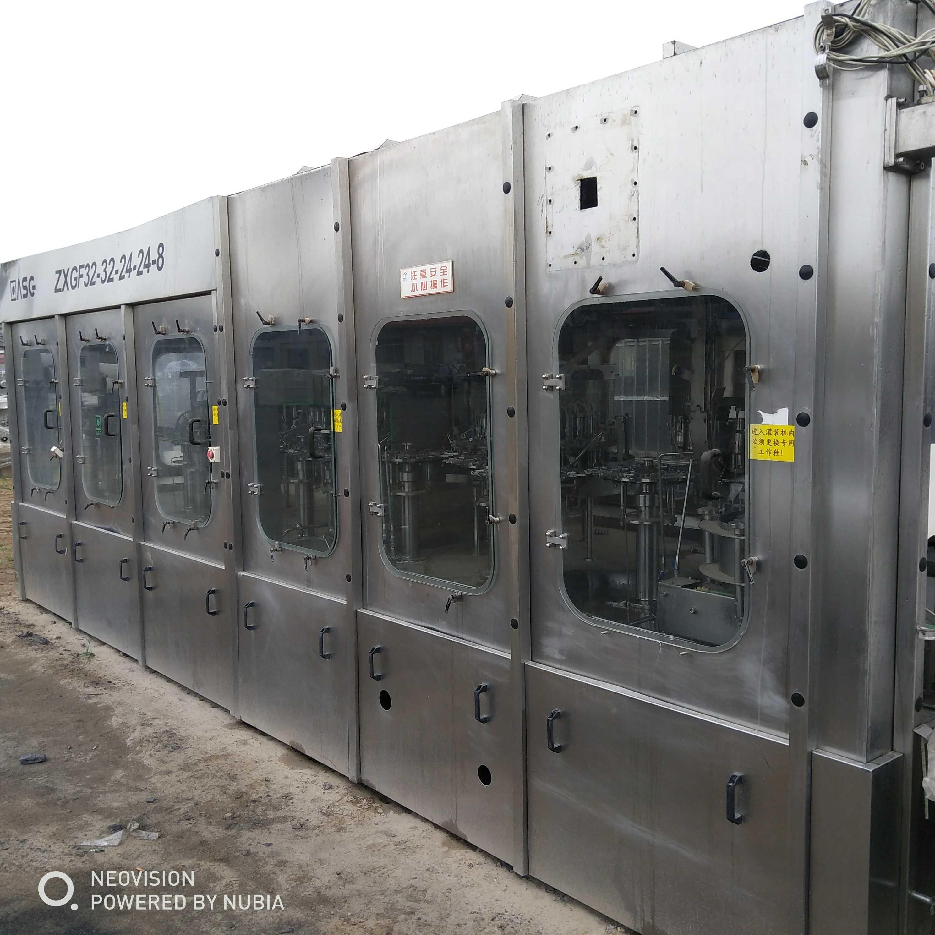 回收二手全自动大桶水生产线桶装水灌装机
