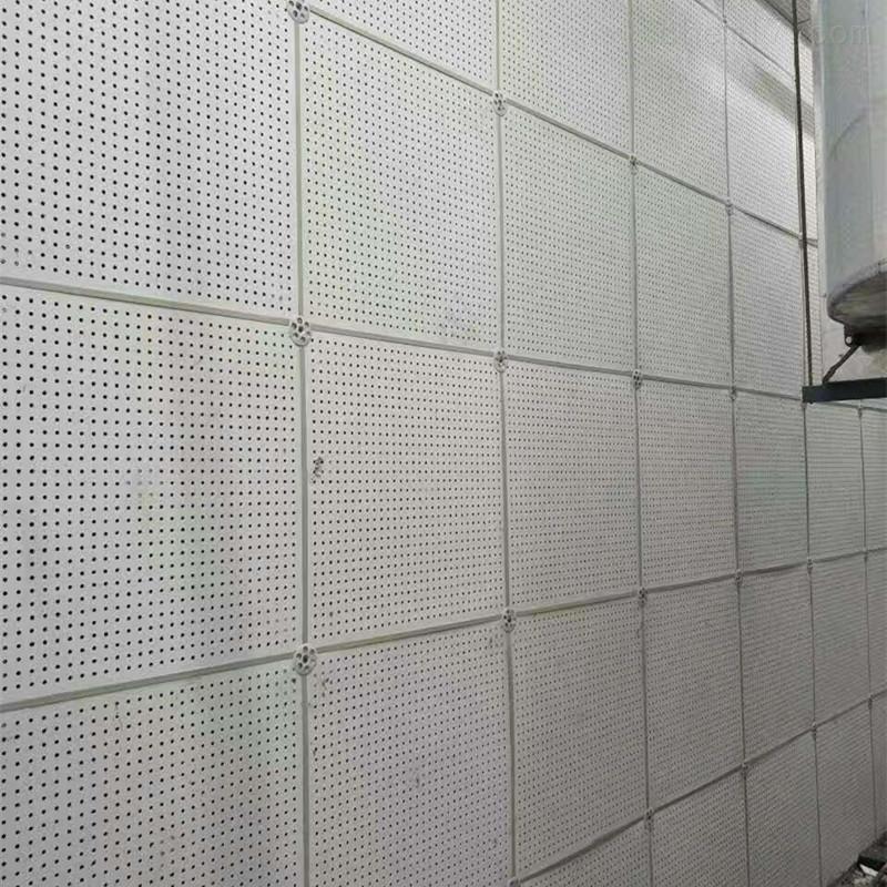50mm石膏复合吸音板装饰墙