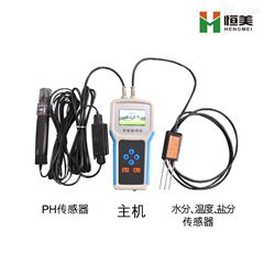 HM-WSYP恒美土壤温度水分盐分PH测定仪