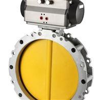FD971X电-动高耐磨粉尘蝶阀