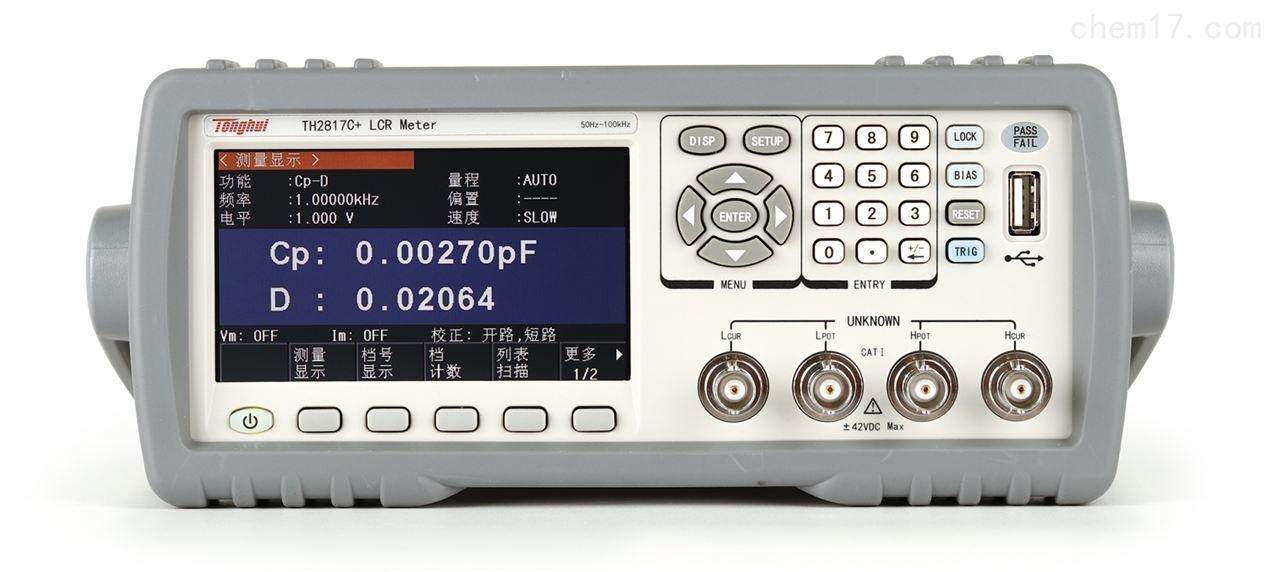 TH2817C+ 濾波器平衡測試儀