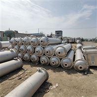 二手钛材质列管冷凝器大量出售