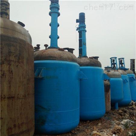 二手3吨5吨搪瓷反应釜回收单价