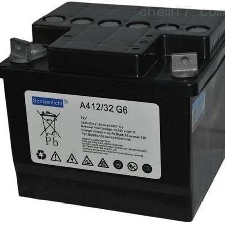 德国阳光胶体蓄电池A412系列