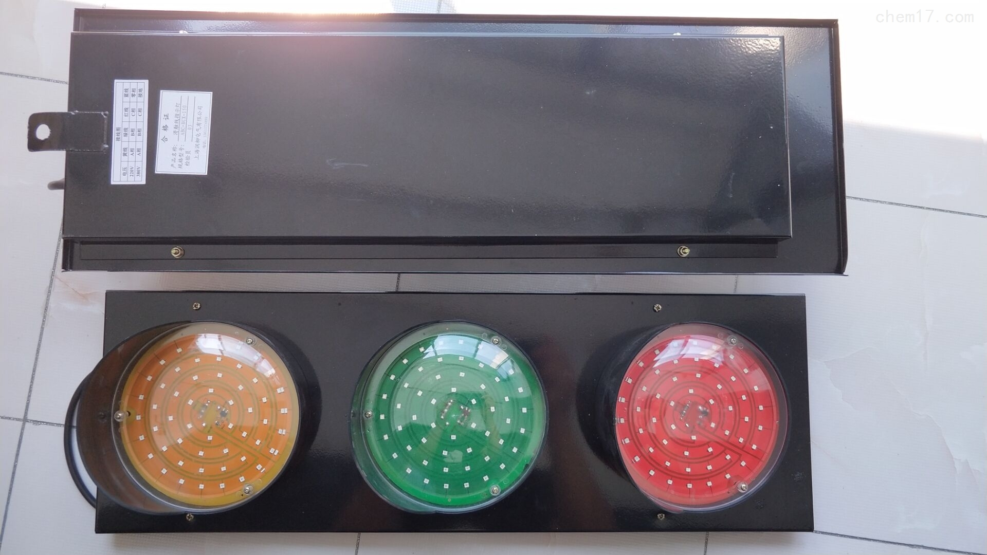 安全防爆滑线指示灯