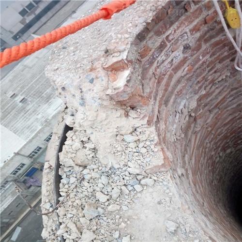 西双版纳废弃烟囱拆除公司施工方案
