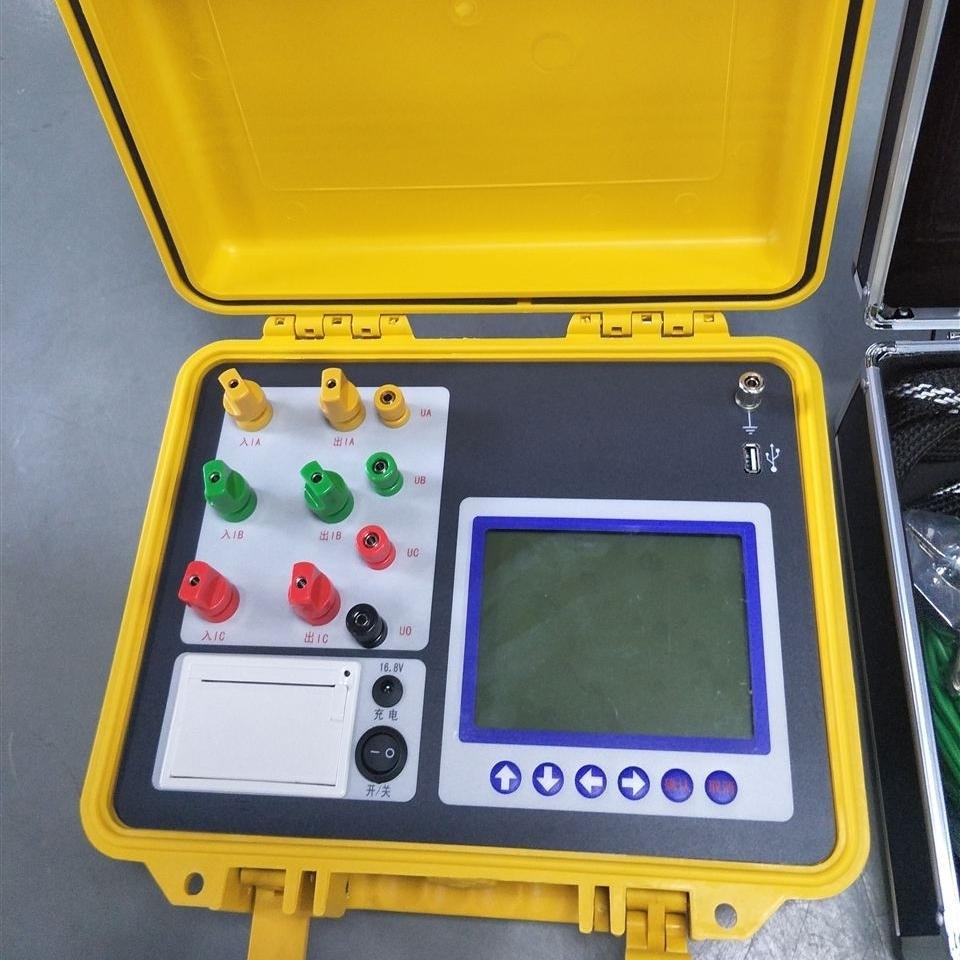 大屏幕变压器容量特性测试仪