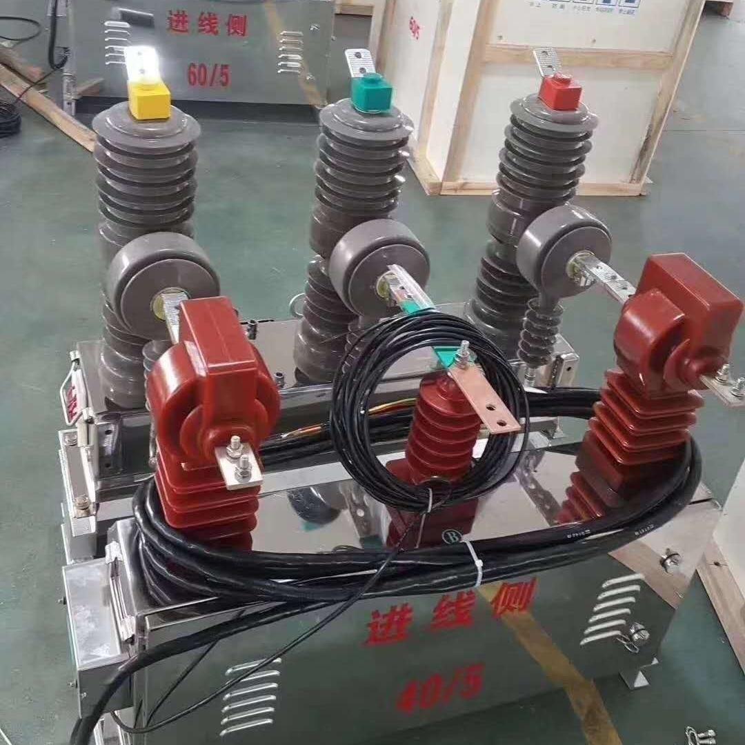 智能ZW32-10kv中置式高压断路器