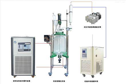 玻璃反應釜溫度控制成套配置