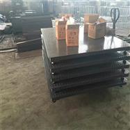 双层碳钢面板电子地磅,仓库用1.5X2m平台秤