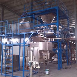 浙江嘉兴半自动水溶肥设备生产线