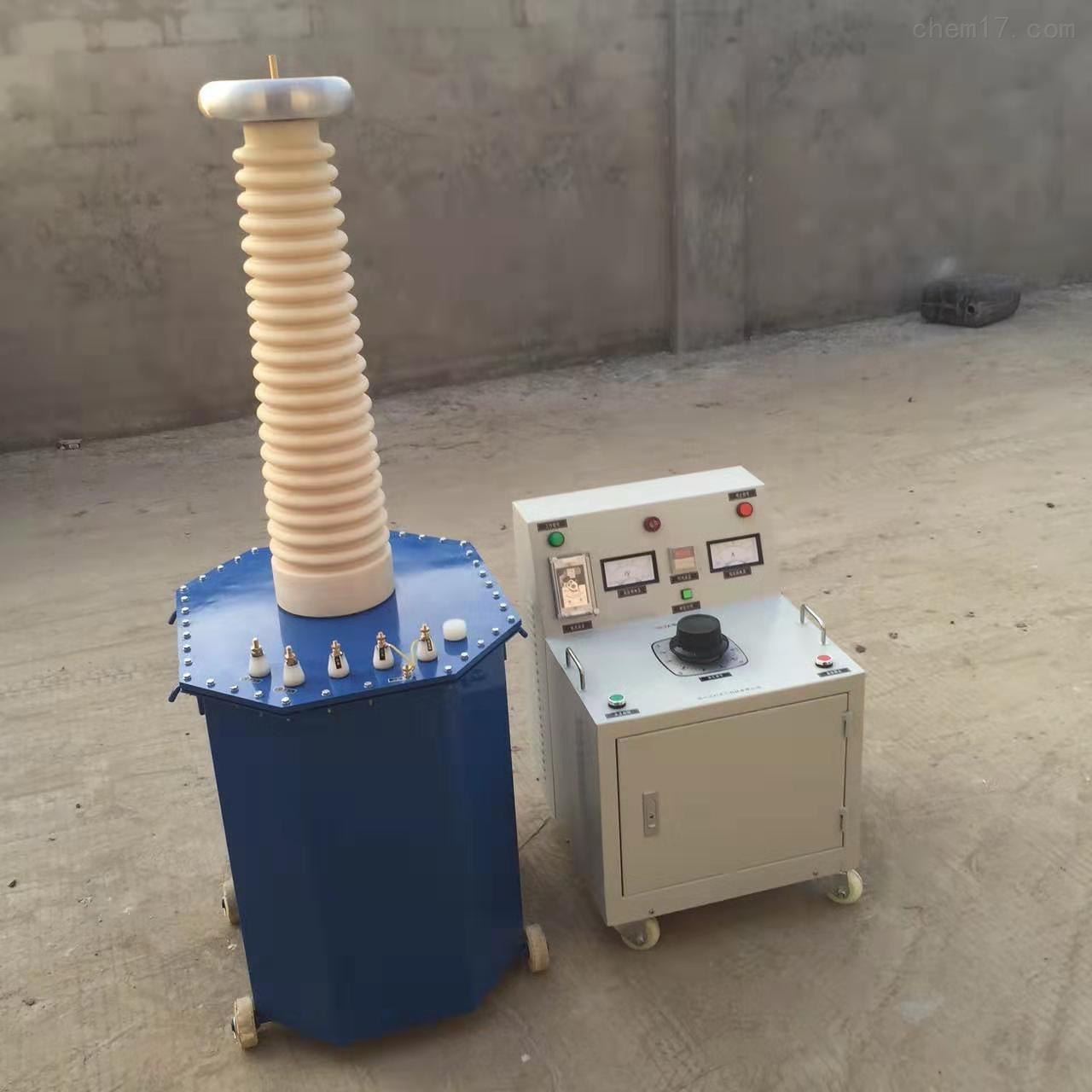 熔喷布高压静电发生器油浸试验变压器
