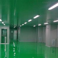 HZD青岛乳制品洁净厂房装修施工