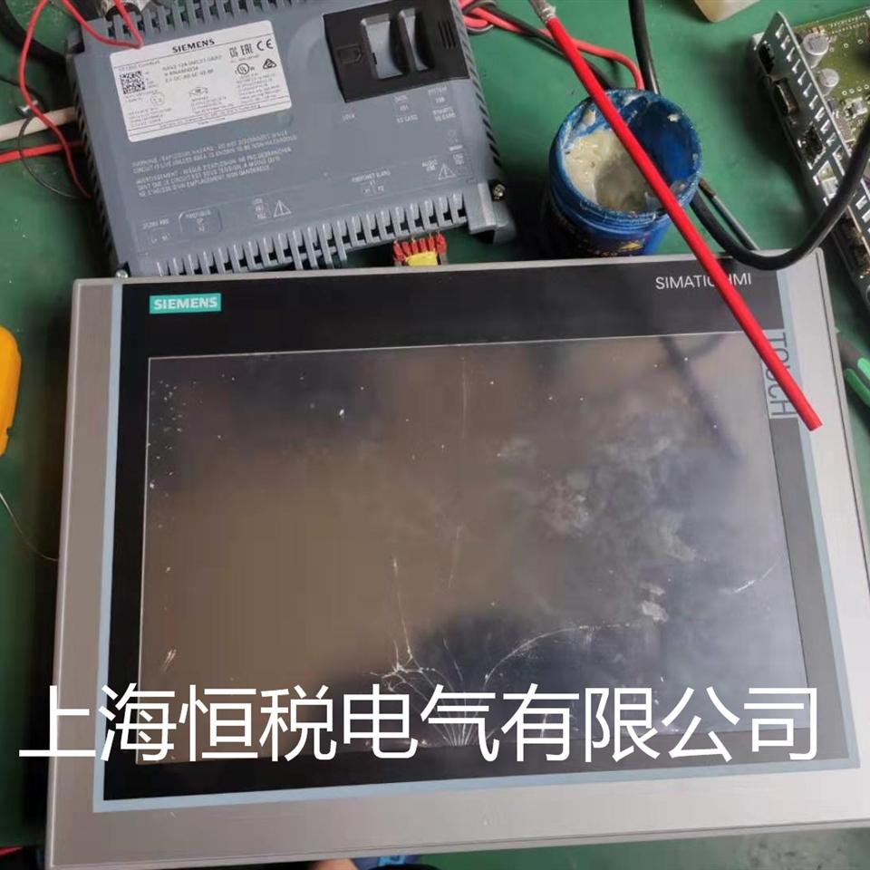 西门子触摸屏面板所有按键都失灵修理中心