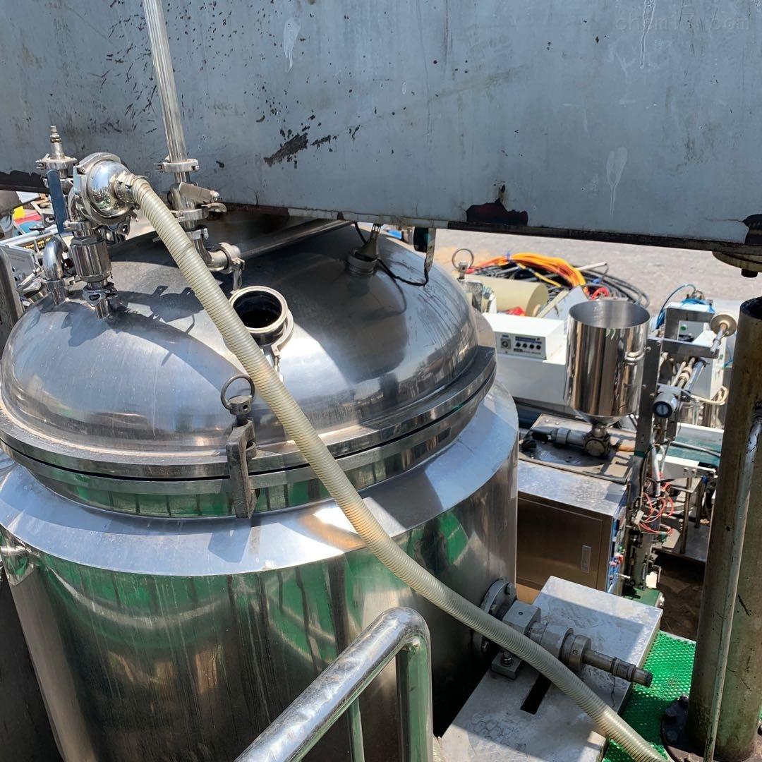 高价回收转让二手真空均质乳化机