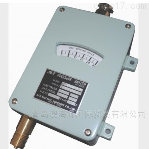 BP-F5系列波登管防滴型型压力开关日本ACT
