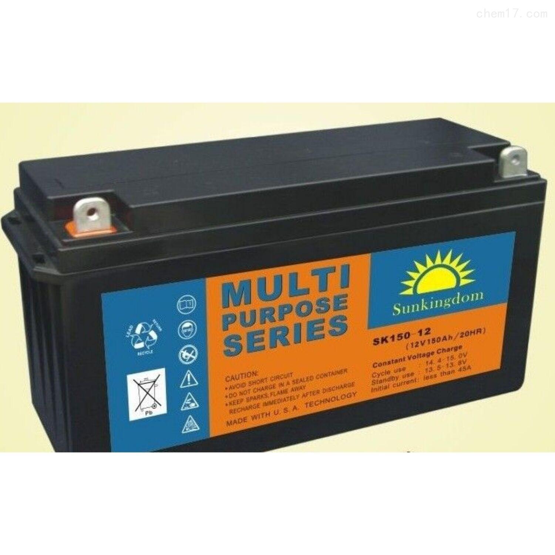 阳光金顿蓄电池SK150-12技术应用