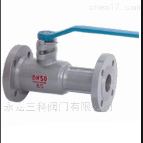 QJ641PPL气动一体式高温球阀