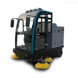 磚廠煤廠粉塵清理用電動吸塵掃地車